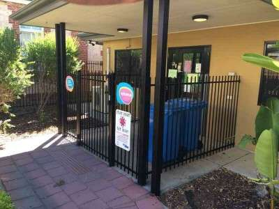 Installation of fencing at childcare centre - after