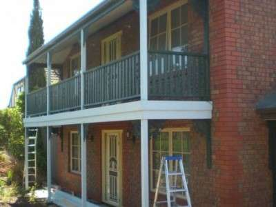Replace and repair verandah - after